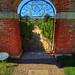 Montpelier: Annie duPont Formal Garden gate