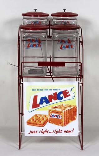 Lance Jars w/ RAck ($420.00)