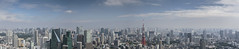 Tokyo skyline (andyrousephotography) Tags: japan tokyo roppongihills moritower skydeck observationdeck panorama vista cityscape city landmarks tokyotower skytree view daylight bluesky clouds andyrouse canon eos 5d3 5dmkiii ef24105mmf4l