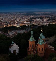 Praha (Michele Naro) Tags: praha prag prague tschechien czechrepublik petrin petrintower view nightshot nikond610 nikkor50mmf18