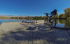 Docked (The.Mickster) Tags: wideangle portrait bicycle gopro fisheye water idaho hereios bike pond dock self randy 365 park boise fdt facedowntuesday