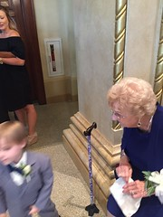 "Grandma Shirley and Paul at Emily and Joe's Wedding • <a style=""font-size:0.8em;"" href=""http://www.flickr.com/photos/109120354@N07/37953315711/"" target=""_blank"">View on Flickr</a>"