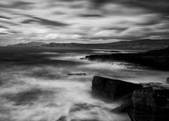 Misty Mood (-- Q --) Tags: ireland atmosphere atlanticocean atlanticcoast wildatlanticway codonegal stjohnspoint aiveensboathouse seascape sea marumidhgcpl monochrome lee09softgrad lee06softgrad leelittlestopper qthompson