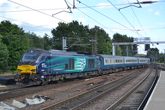 Direct Rail Services 68005 Defiant (Will Swain) Tags: norwich station 12th august 2017 train trains rail railway railways transport travel uk britain vehicle vehicles country england english norfolk drs class 68 28 5 direct services 68005 defiant