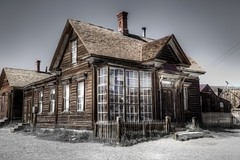 J.S. Cain Residence (Rik Tiggelhoven Travel Photography) Tags: bodie state historic park shp california usa america amerika building abandoned decayed mine desert selective color canon 6d architecture fullframe full frame ef24105mmf4lisusm house residence cain hdr outdoor rik tiggelhoven travel photography details