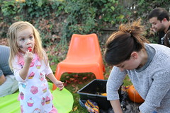 Pumpkin Carving Party 2017 (Dreyfuss + Blackford Architecture) Tags: dreyfuss blackford architecture architects design pumpkin carving painting fun party 2017 halloween family kids coworkers candy