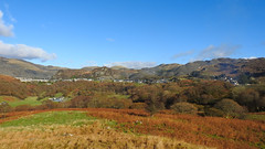Blaenau Ffestiniog in the Autumn Sunshine (uk_dreamer) Tags: landscape mountains nature natur blue sky bluesky trees autumn fall october colors colours mining slate industrial outdoors farm farmland blaenau ffestiniog gwynedd wales cymru stiniog