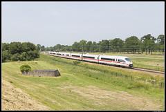 DB ICE 4603, Vechten (J. Bakker) Tags: db ns ice ic 4600 4603 vechten 125 nederland