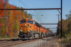 CSXT K138 @ Oxford Valley, PA (Darryl Rule's Photography) Tags: 2017 bnsf buckscounty cp csx csxt canadianpacific catenary crudeoil diesel diesels dobryrd edgewoodrd fall freight freightcar freighttrain freighttrains ge k138 k602 november oil oiltrain oiltrains oxfordvalley pa pennsylvania qa296 railroad railroads septa signal sun sunny tankcar tankcartrain tankcars tankers telephoto train trains trentonsub westbound yardley