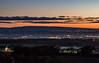 Dawn over Wigan, from Billinge Hill 27-10-17 (ianbonnell) Tags: wigan billingehill sthelens lancashire winterhill dawn