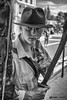 DSC_8124 (NRG SHOT) Tags: movieland ritratto portrait indianajones blackandwhite hat gun adventure model