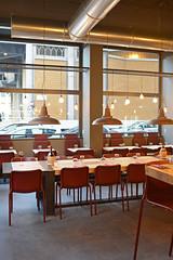 DSC_2379 (fdpdesign) Tags: pizzamaria pizzeria genova viacecchi foce italia italy design nikon d800 d200 furniture shopdesign industrial lampade arredo arredamento legno ferro abete tavoli sedie locali