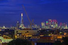 Costruendo Londra / Building London (Peckham, London, United Kingdom) (AndreaPucci) Tags: london uk peckham theshard cityoflondon stpaulscathedral towerbridge andreapucci canoneos60