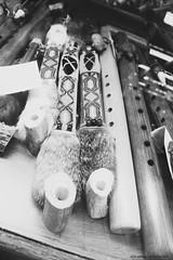 Relics and Replicas (Vulperine) Tags: bw summer vacation road trip art fine blackandwhite contrast blackwhite danielbremer vulperine travel photo flute pipe people relics ancient vintage film analog grain kodak trix newmexico desert roadtrip artifact old style craft chiaro velvet softness ornate reality surreal dada discover still life stillife animal dof monochrome