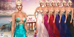 Diamond Tears Royal Lace by Wild Orchid (Wild Orchid Haute Couture) Tags: ladies women fashion bridesmaid people trending style designer formal ballroom gowns dresses lingerie shoes hair maitreya slink hourglass tmp belleza jazzstyle jazz secondlife