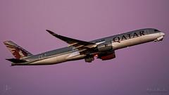 Qatar A350-900 - A7-ALA - 2017-10-08 - DFW (Josh123) Tags: qatarairways airbusa350900 a7ala dfw kdfw foundersplaza dfwinternationalairport