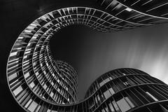 Horse Shoe (TS446Photo) Tags: architecture fineart zeiss longexposure lookup building curve curves monochrome