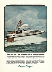 Chris-Craft Constellation, 1964 (aldenjewell) Tags: chris craft constellation boat 1964 ad