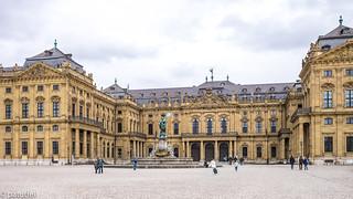 The Residenz in Würzburg, Germany