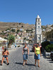 Symi Town | Tourists (Toni Kaarttinen) Tags: greece griechenland grecia grèce grécia ελλάδα elláda ἑλλάσ hellás dodecanese island greek city holiday vacation summer summerholiday symi syme simi σύμη excursion boattrip daytrip sea adrian woamn women man woman skirt shorts topless nipples chest cap clocktower