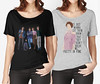 How the Movies Have Influenced My Wardrobe (The Breakfast Club and Pretty in Pink) | Not Dressed As Lamb, over 40 style (Not Dressed As Lamb) Tags: fashion style tops tshirts tshirt graphic tee movie movies brat pack john hughes