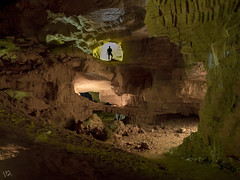 Cova Tallada, Javea (:) vicky) Tags: cova cueva tallada javea nocturna night light linternas