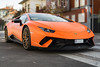 Lamborghini Huracán Performante in the wild (lu_ro) Tags: lamborghini huracán performante wild italian bull fast hypercar milan citylife orange carbon sony a7 50mm samyang