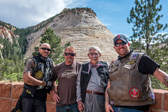 6 Justin, Keith, Robert Pinkham and WWII Veteran Prothero.jpg