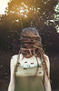 Anxiety (Kelsey Ann Thomas) Tags: portrait girl dreads tank bees hive mind anxiety thoughts brain woman green light sun edit photoshop tutorial texture manipulation magic art adventure animal