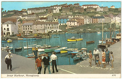 Mevagissey - Inner Harbour in the 1960's. And Some Interesting Information (pepandtim) Tags: mevagissey inner harbour 1960s harvey barton postcard old early nostalgia nostalgic 23061969 1969 marion crescent st mary cray orpington kent austell cornwall valley bay shops tourists pilchard fishing smuggling andrew pears soap 1768 barber shop 1789 power station oil electricity lighthouse heligan estate tremayne victorian great war weeds stonewall riots greenwich village new york city 27mev43