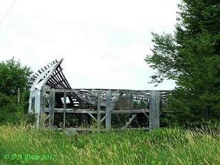Skeleton of a Barn