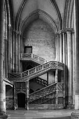 Cathedral of Rouen (paulbunt60) Tags: kerk zwartwit blackandwhite rouen cathedral church