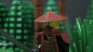 Lego: Warrior Of The East