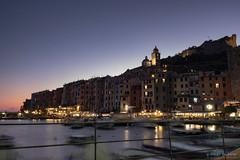 Il porto al tramonto (Silver_63) Tags: portovenere liguria la spezia notte colore luci
