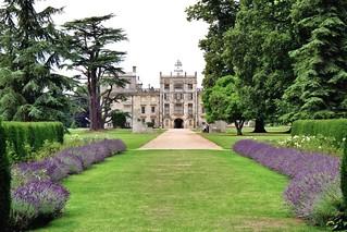 Entrée à Wilton House (XVIIe-XIXe), Wiltshire, Angleterre, Royaume-Uni.