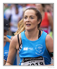Kate (Seven_Wishes) Tags: newcastleupontyne outdoor photoborder jo canoneos5dmark4 canonef100400f4556lisii people candid sport sportingevent greatnorthrun halfmarathon woman runner sporting running portrait kate dof depthoffield sportswear simplyhealth