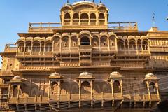 Rajasthan - Jaisalmer - Roof top restaurant-2-2