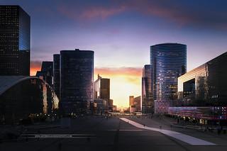 Financial district of La Defense - Paris