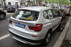Poland Diplomatic (Brazil) - BMW X3 F25 (PrincepsLS) Tags: poland polish diploamtic license plate 019 brazil germany berlin spotting bmw x3 f25