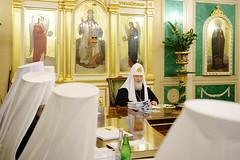 15. Заседание Священного Синода РПЦ от 6 октября 2017 г