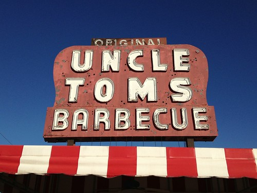 Original Uncle Toms Barbecue Sign
