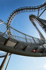 2600 (Bethie Inthesky) Tags: germany duisburg art installation landmark tigerturtle autumn stairs lookup