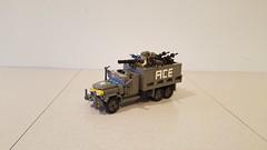 M35 Gun Truck upgrades (Project Azazel) Tags: guntruck lego pa nam vietnam legoguntruck legonamguntruck custom customlego projectazazel usguntruck