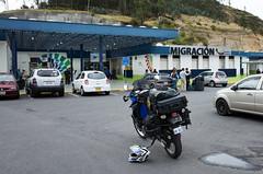 Ecuador / Colombia Border Crossing (cfculhane) Tags: ricohgr ecuador colombia chasingtheblackandwhitedog klr650 advrider borders fronteras bordercrossing