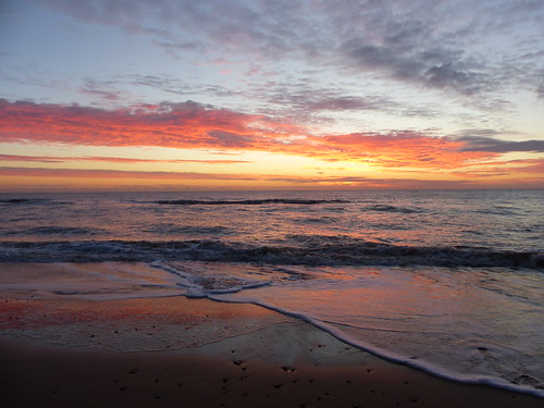 Sunrise from Southwold Beach October 2017