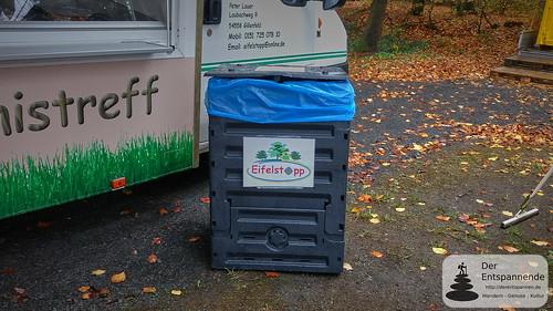 Eifelstopp: Kompostierer anstelle Mülltonne