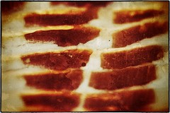 Bacon macro (Steve4343) Tags: nikon d70s bacon meat macro mans favorite food red white pork