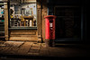Postbox on The Mall, Clifton, Bristol (KSAG Photography) Tags: postbox post street streetphotography light bristol uk unitedkingdom england europe nikon october 2017 autumn night nightphotography mail red mailbox city urban