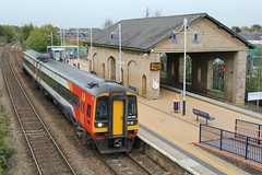 East Midlnds Trains 158788 - Mansfield Woodhouse (the mother '66' 66001) Tags: eastmidlandstrains class158 158788 mansfield mansfieldwoodhouse robinhoodline nottingham nottinghamshire railways