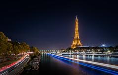 Paris@Night - Explored (Photo Lab by Ross Farnham) Tags: paris france eiffel tower nightshot light trails city long exposure le sony a7rii zeiss 1635mm f4